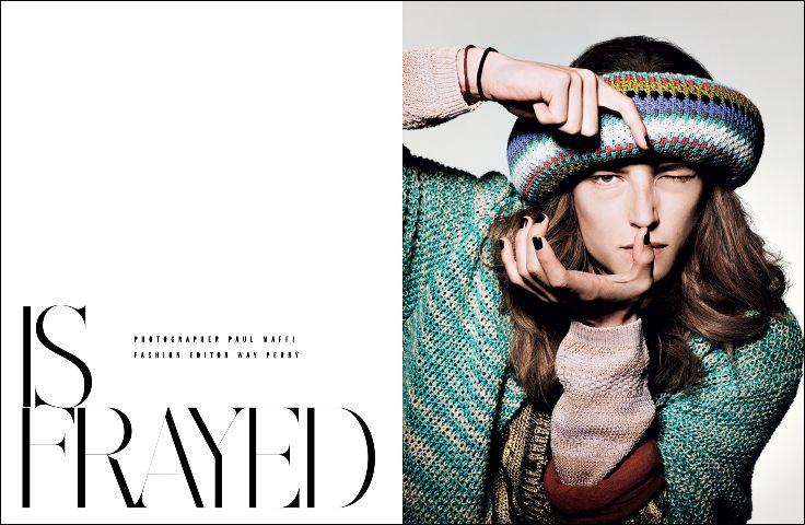 Is Frayed – Editorial