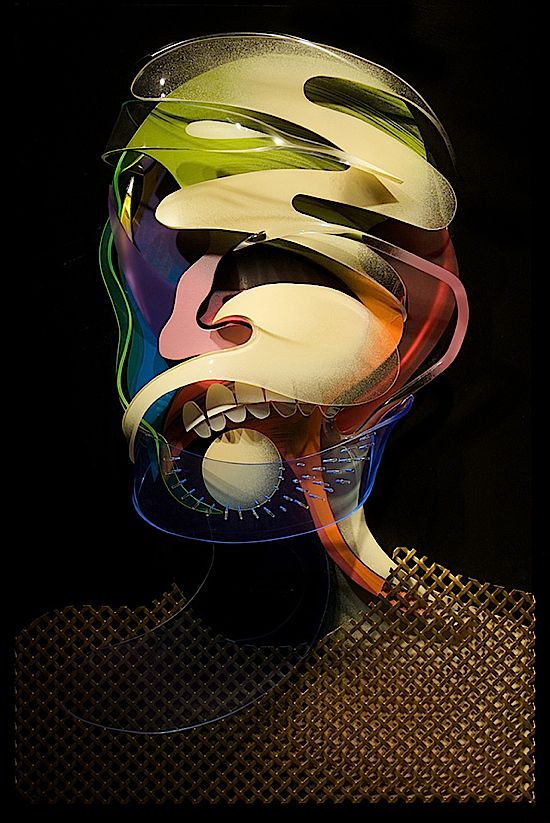 Fashion 3D Paintings Adam Neate