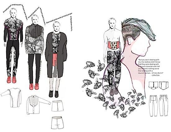 Joseph Turvey Fashion Mood-Boards