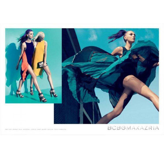 Printed 2012 Dresses by BCBG Max Azria