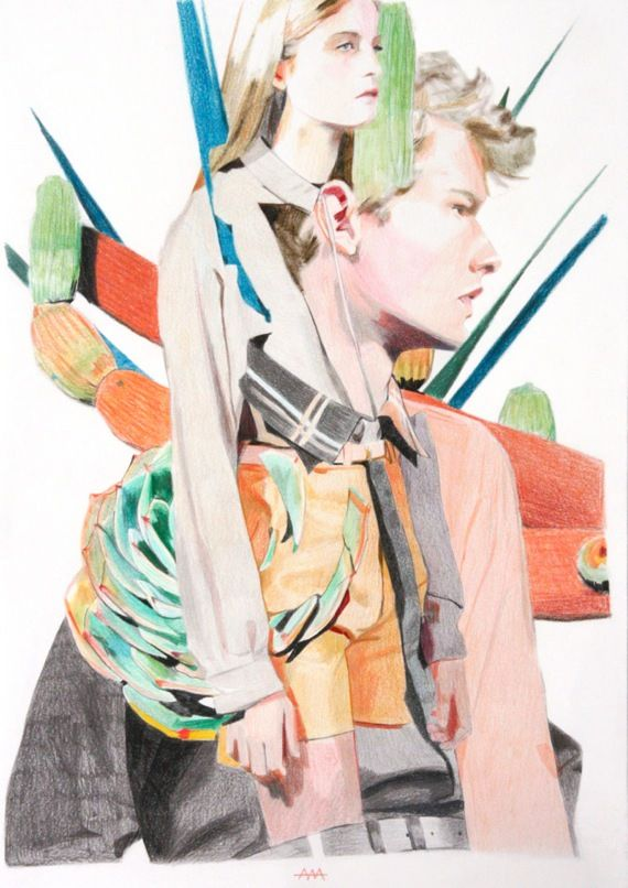 Fashion illustrations – Mario González