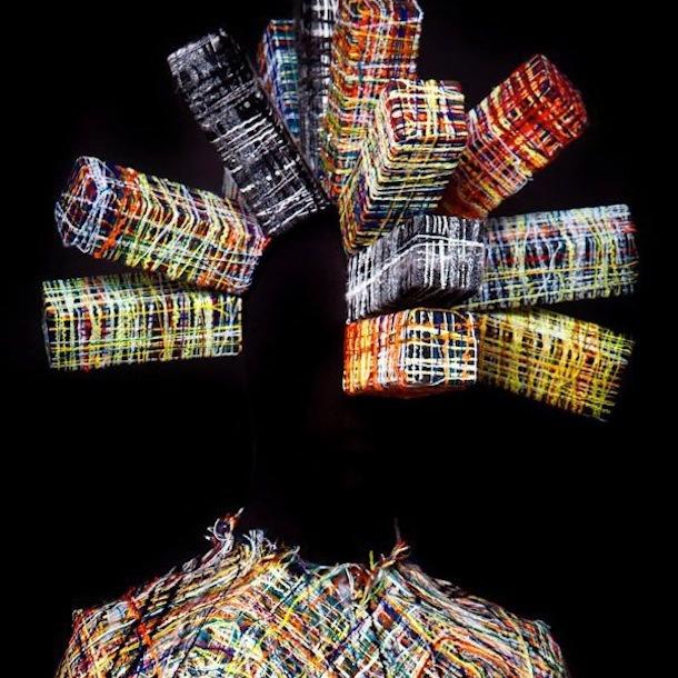 Hellen Van Rees – Weaving technique inspired by tweeds