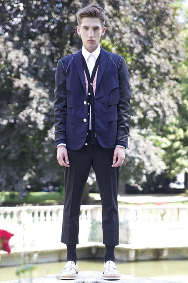 เสื้อผ้าผู้ชายแฟชั่นรับลมร้อน 2014 Giuliano Fujiwara