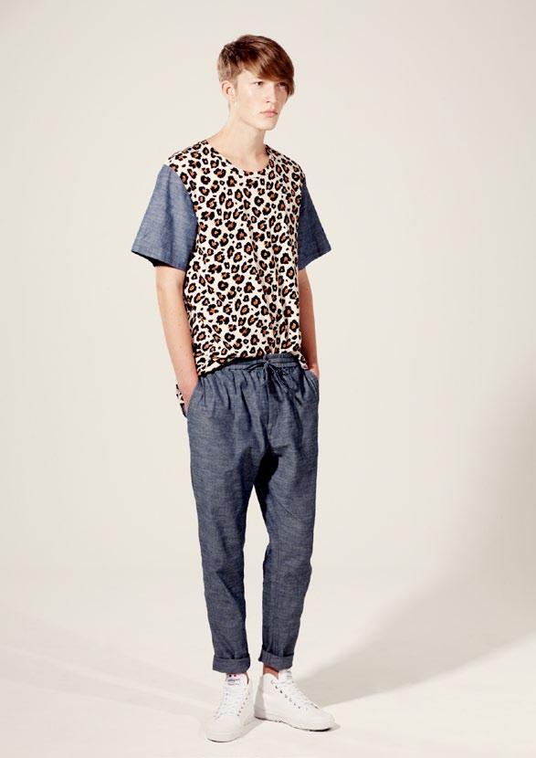 เสื้อผ้าลายเสือ Bigeni Basics Spring Summer 2014