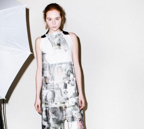 งานพิมพ์เสื้อจาก Eckhaus Latta 2014